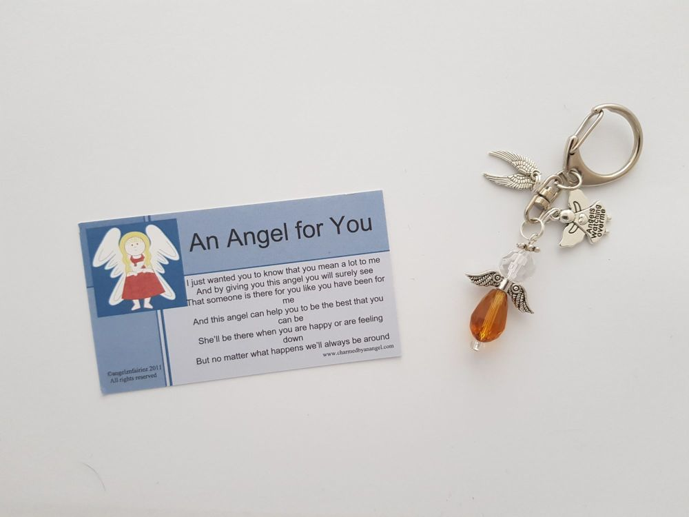 Angel for You keyring