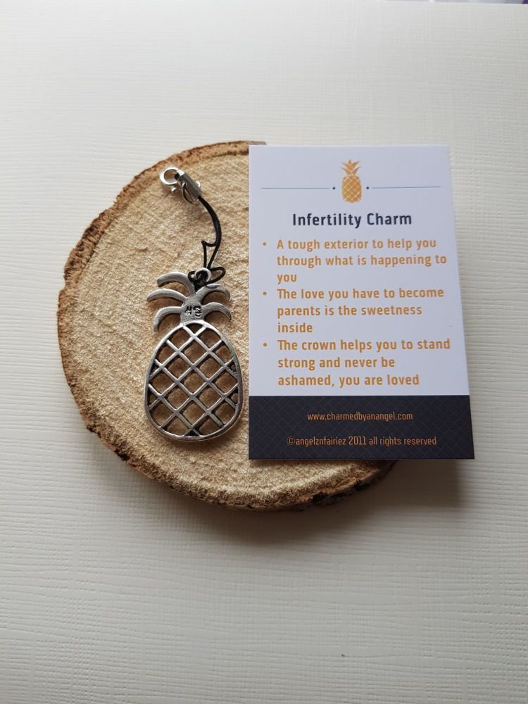 The Infertility Charm Clippy - A Pineapple