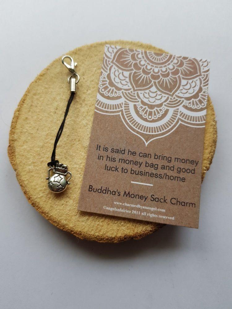 A Buddha's Money Sack Charm