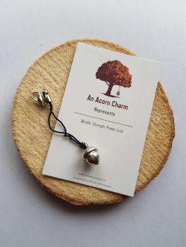 An Acorn Clippy Charm