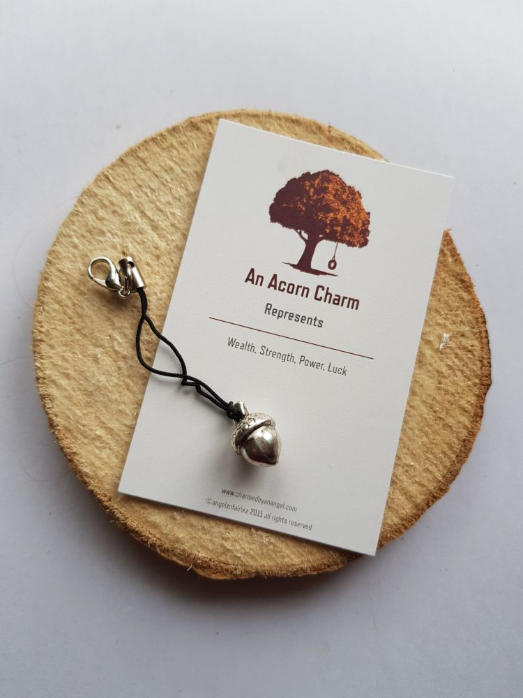 An Acorn Clippy Charm
