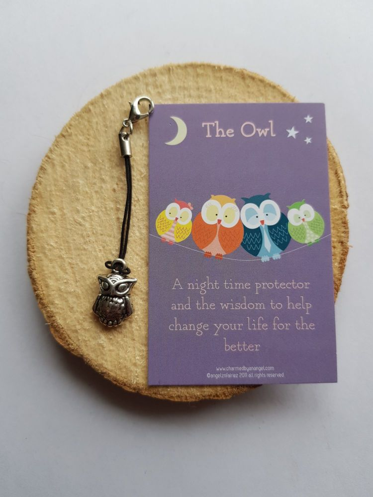 Owl Clippy Charm