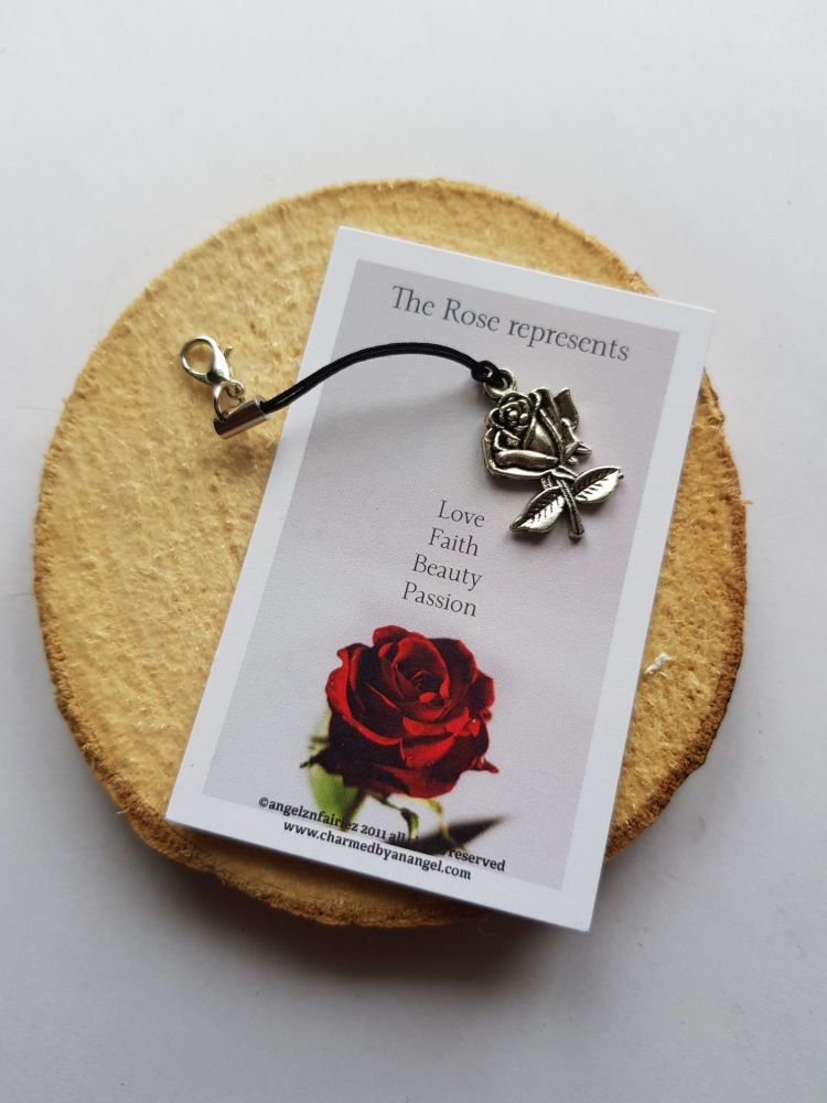 Rose Lucky Charm Clippy