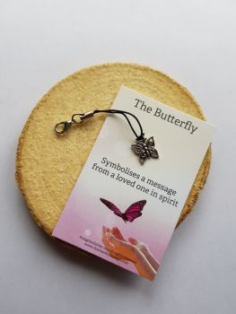 The Butterfly Clippy Lucky charm