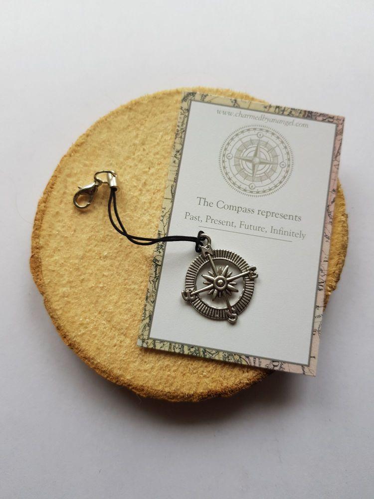 The Compass Clippy Lucky Charm