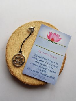 The Lotus Flower Clippy Charm