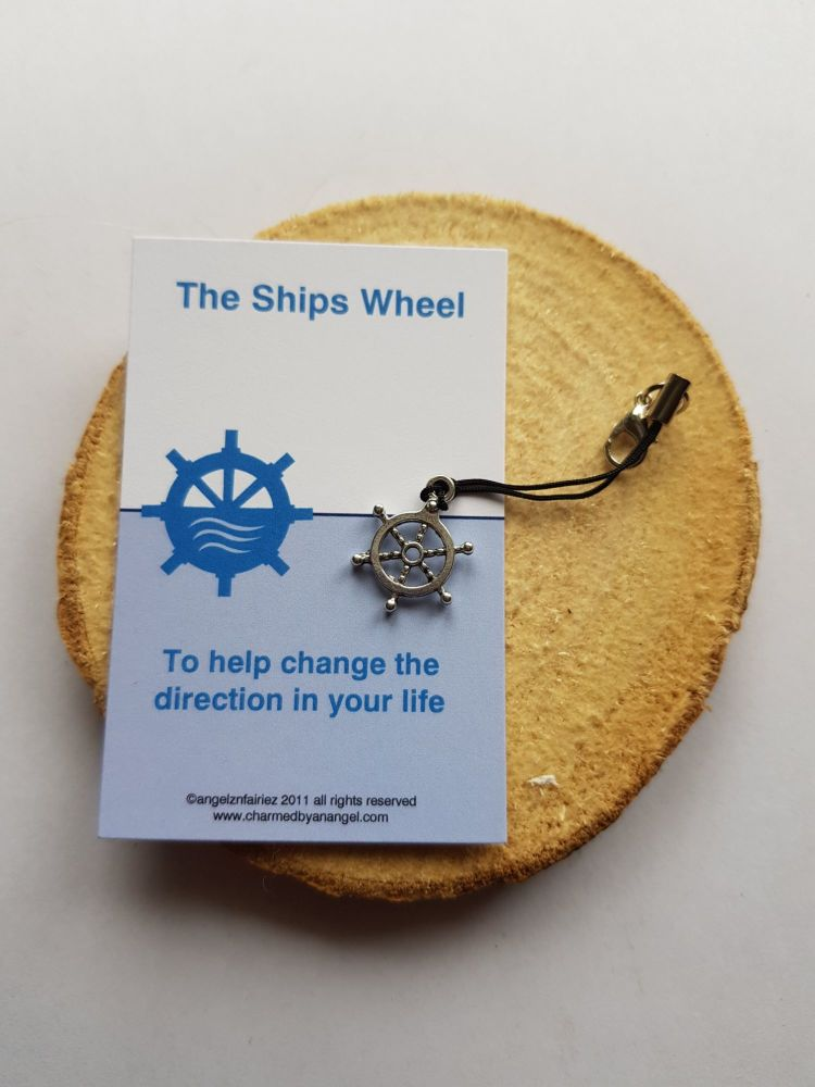 The Ships Wheel Clippy Lucky Charm