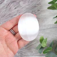 Selenite Palmstones/Worry Stones