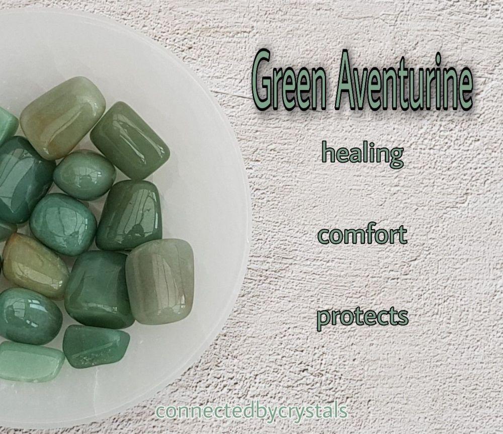 Green Aventurine - Comfort