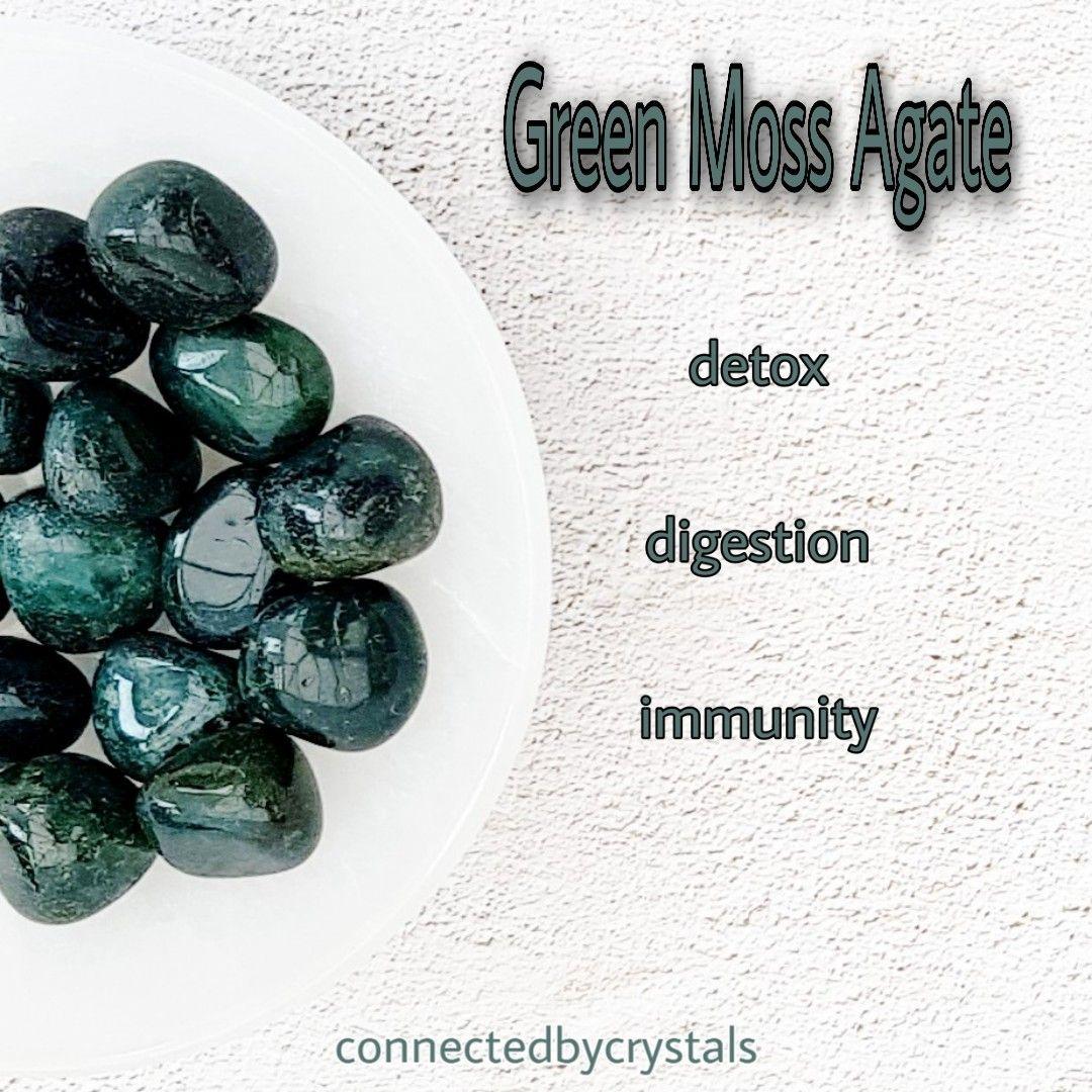 Green Moss Agate - Self Acceptance
