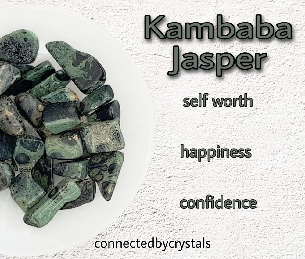 Kambala Jasper - Happiness