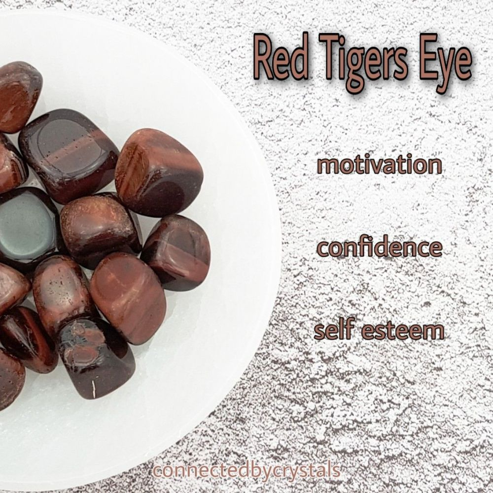 Red Tigers Eye - Motivation
