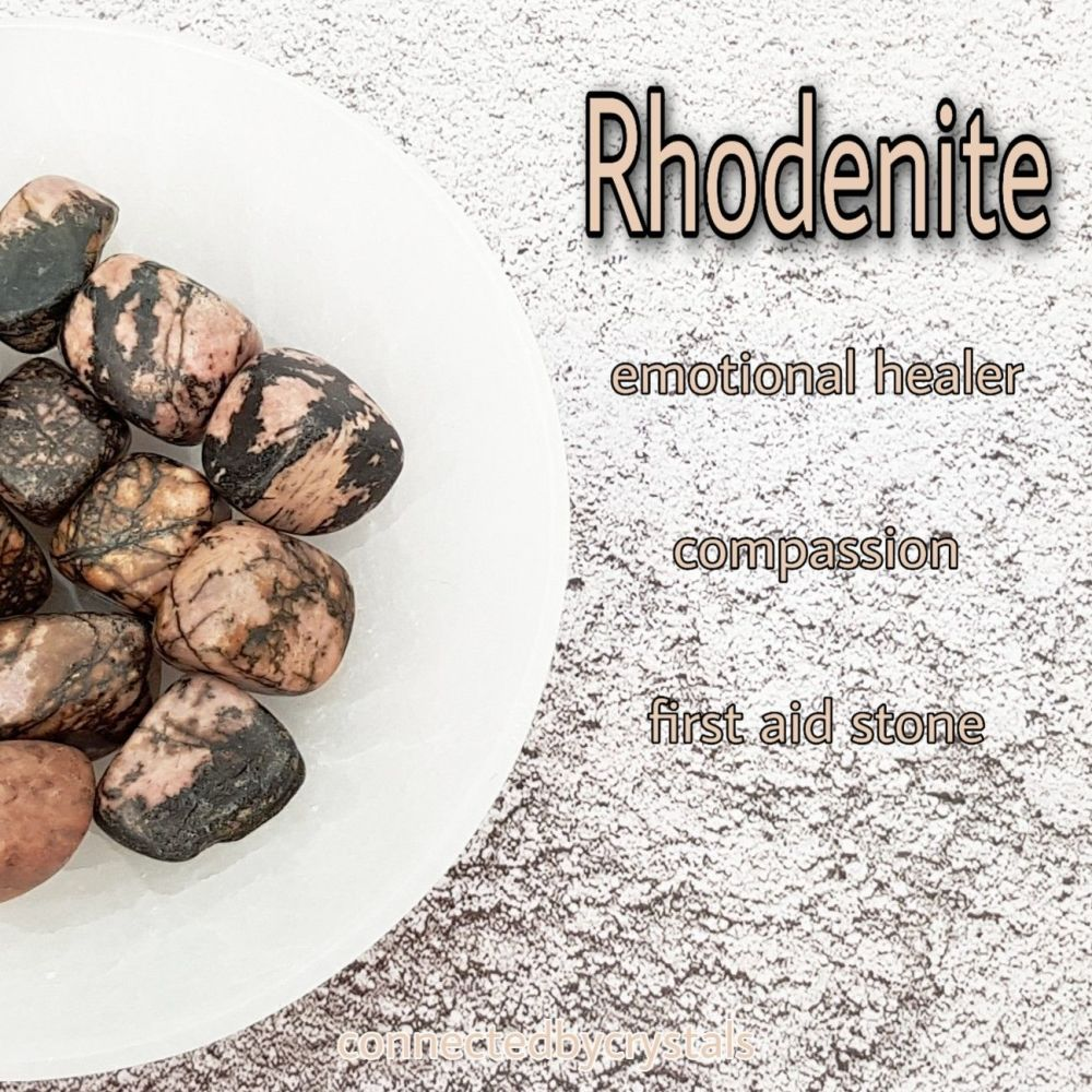 Rhodonite - Emotional Balance