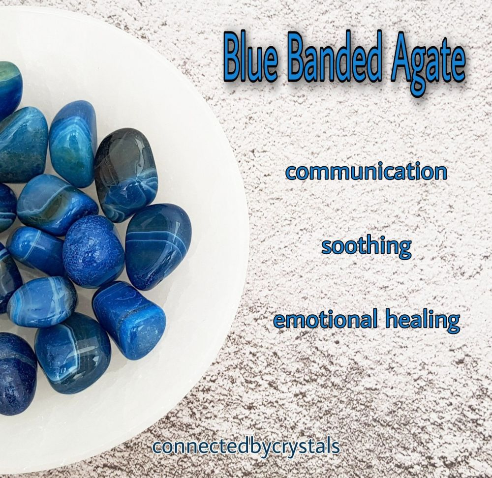 Blue Banded Agate - Harmony