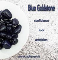 Blue Goldstone - Talisman