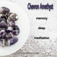 Chevron Amethyst - Sleep