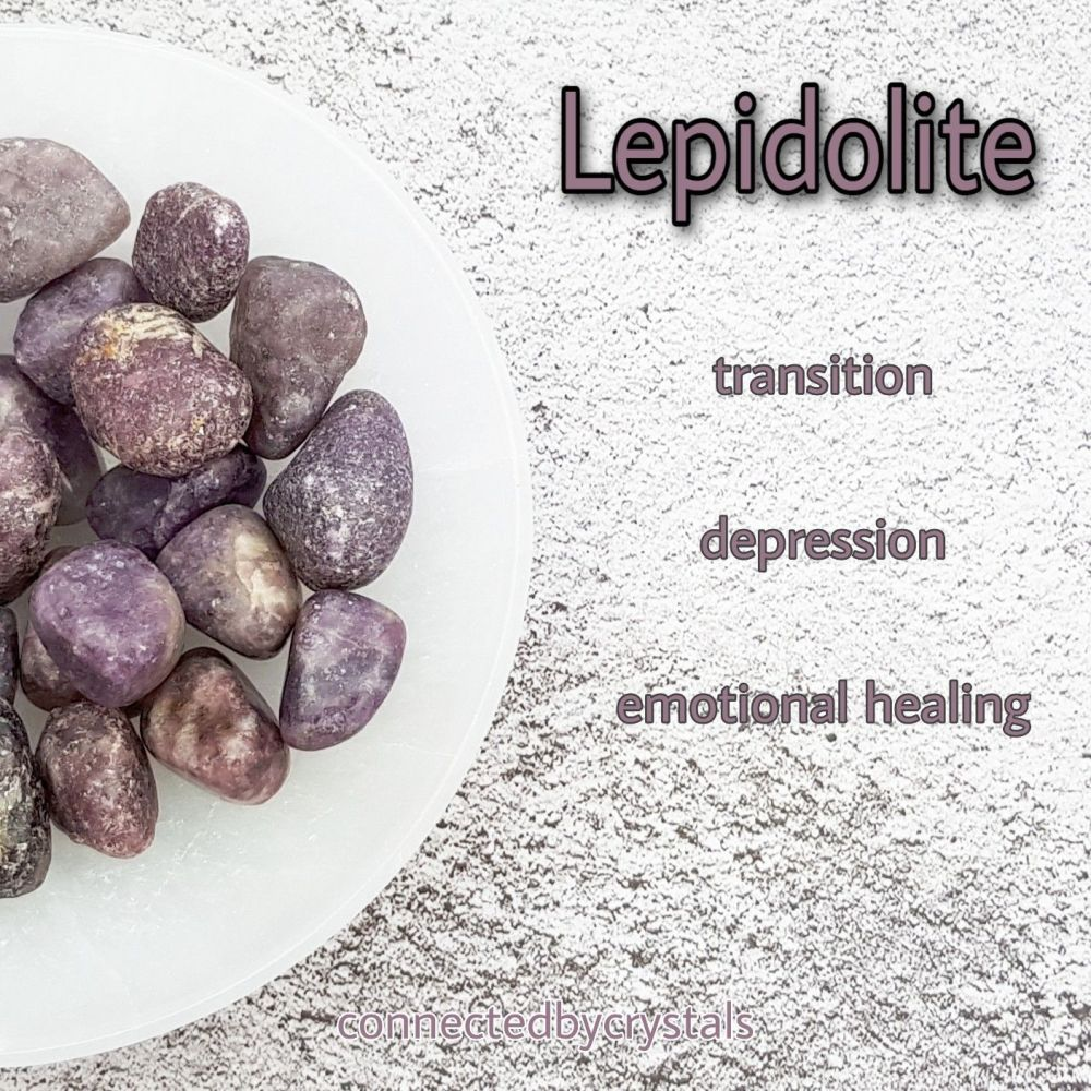 Lepidolite - Transition