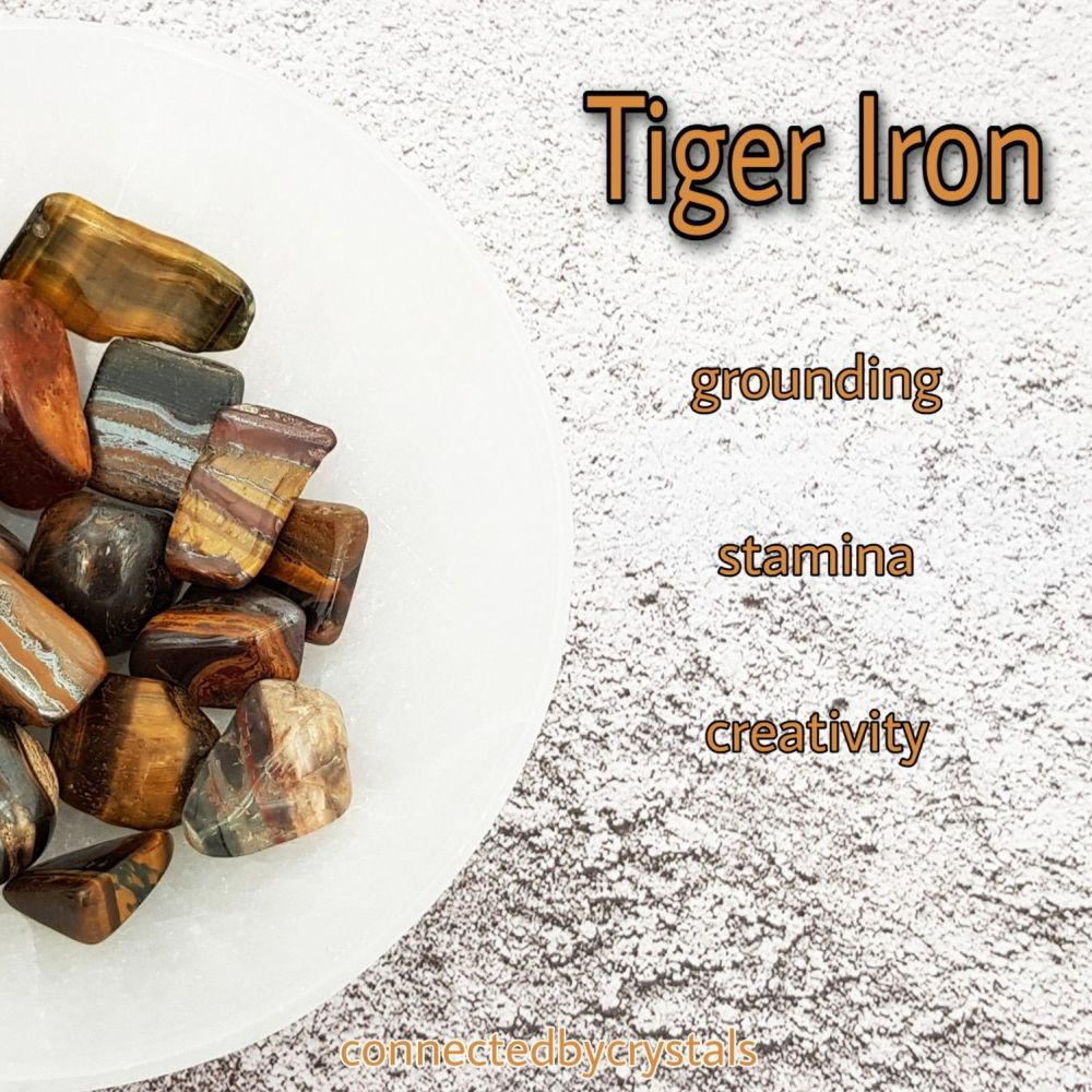 Tiger Iron - Spiritual Grounding