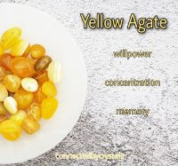 Yellow Agate - Resolve