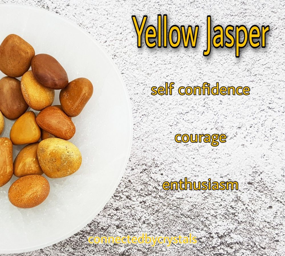 Yellow Jasper -Concentration