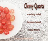 Cherry Quartz - Anxiety Relief