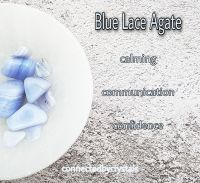Blue Lace Agate - Calm