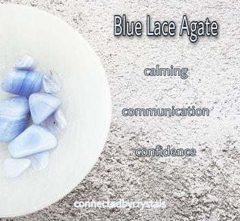 Blue Lace Agate - Calm