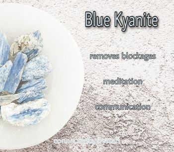 Blue Kyanite - Cleansing