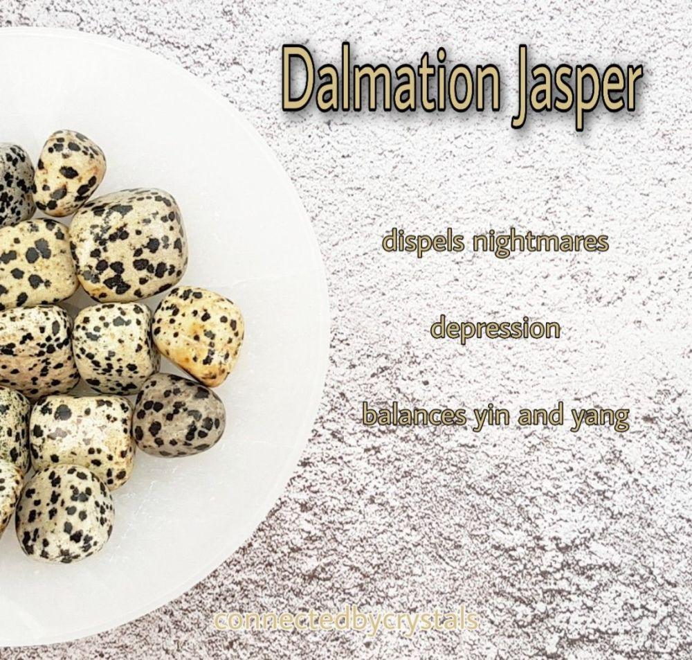 Dalmation Jasper - Dispels Nightmares