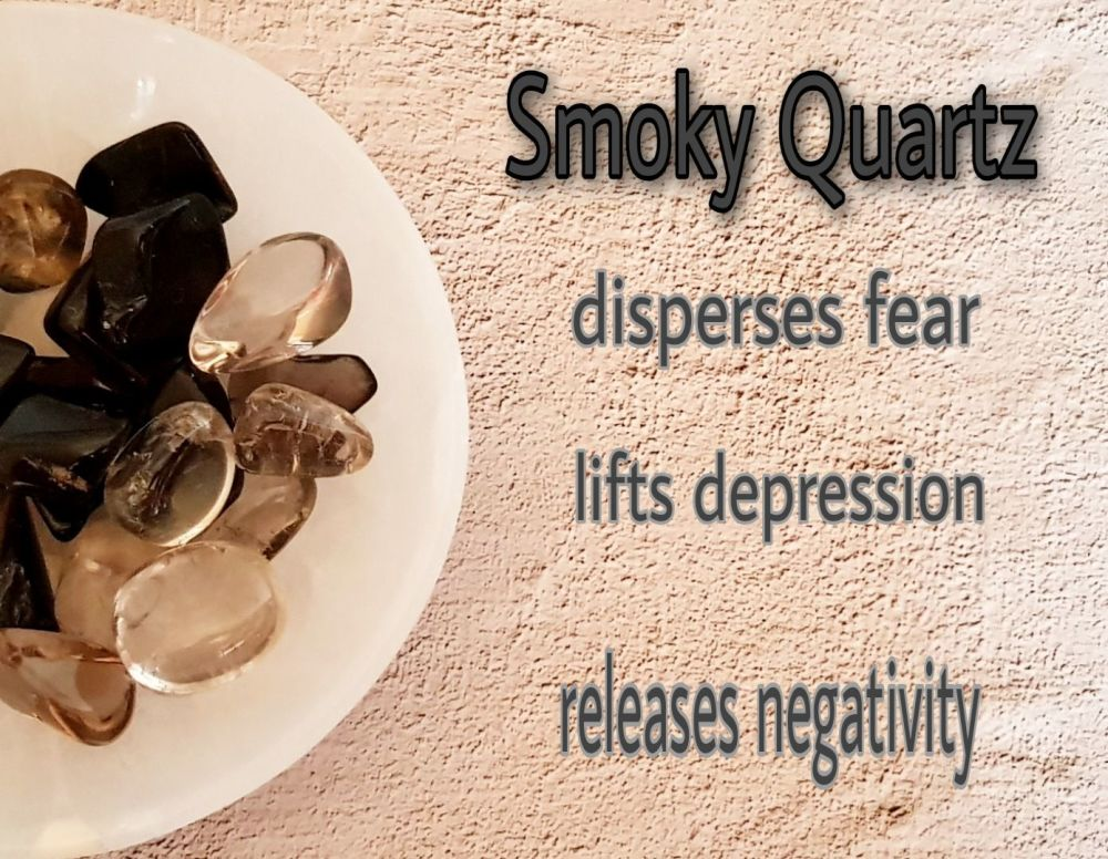 Smoky Quartz - Releasing Negativity