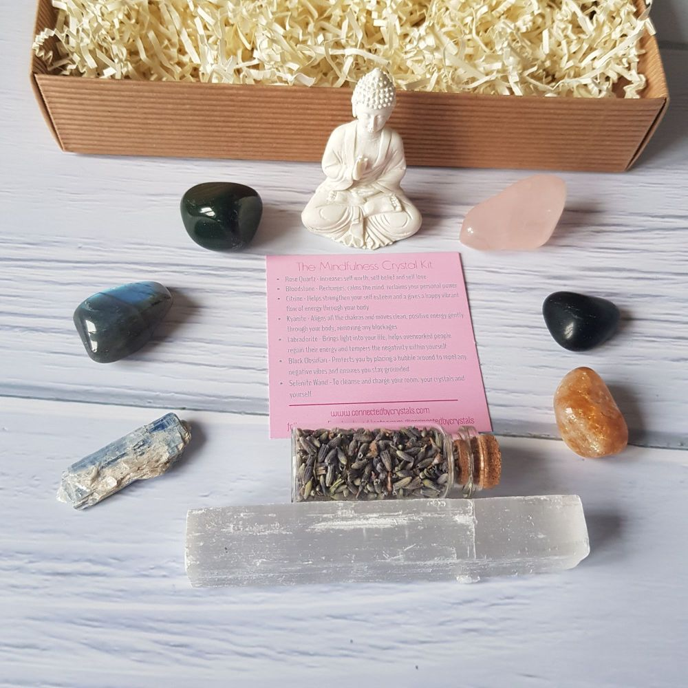 Mindfulness Crystal Gift set