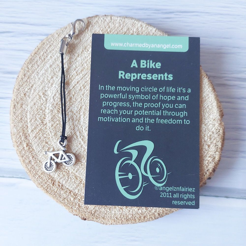 A Bike Clippy Charm