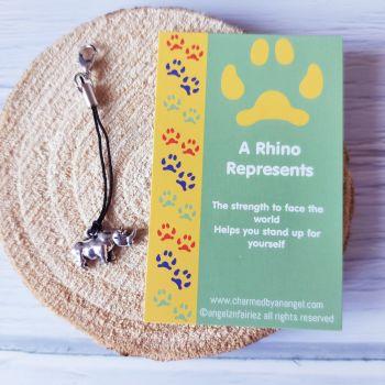 A Rhino Clippy Charm