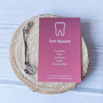 Teeth Clippy Charm