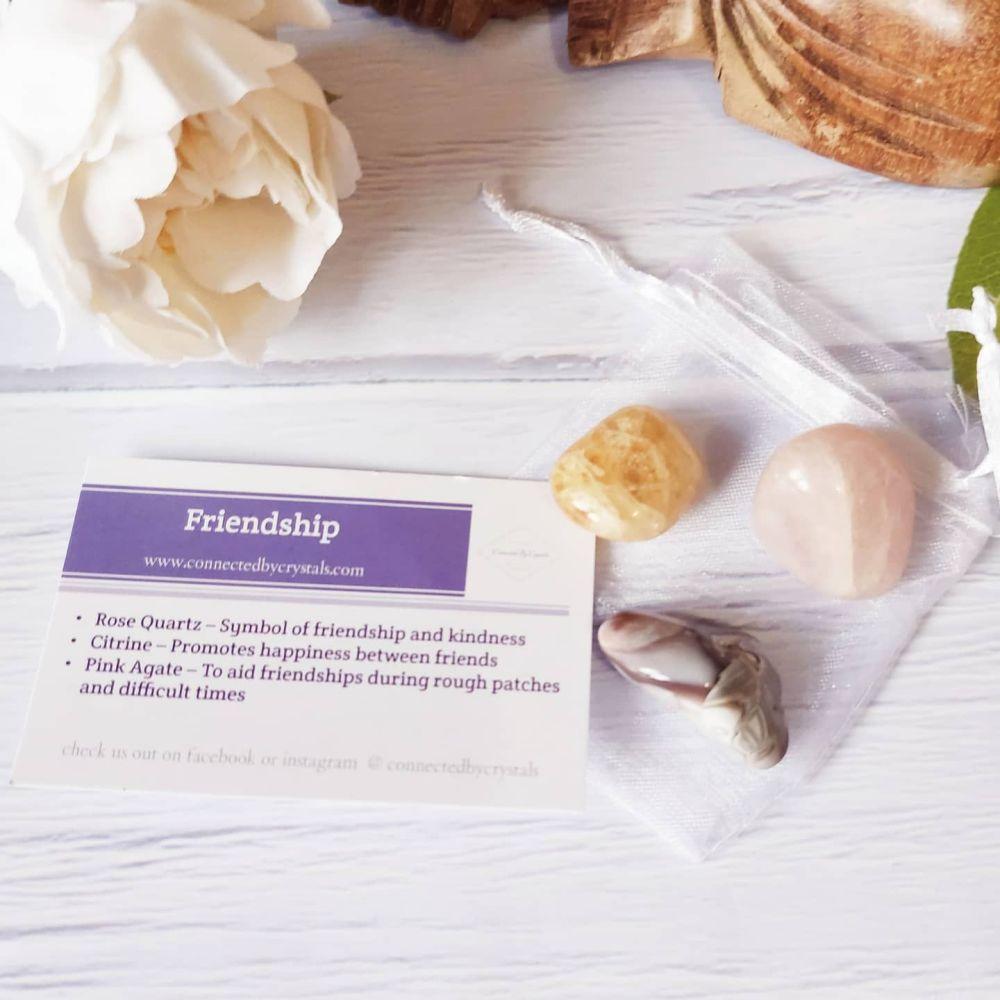 Friendship Mini Crystal Gift set