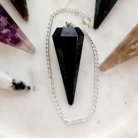Black Tourmaline Pendulum - Protection