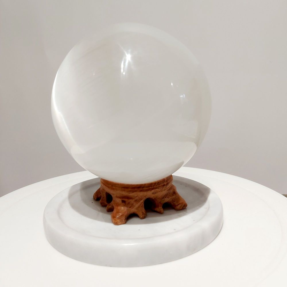 Selenite Sphere - Intuition