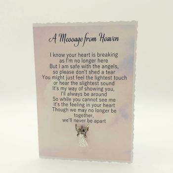 A Message from Heaven Greeting Card *Free Postage*