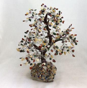 Large Mixed Gemstone Tree with 500 gems