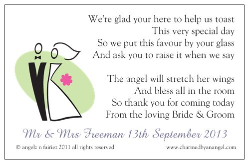 Wedding Favour Angels