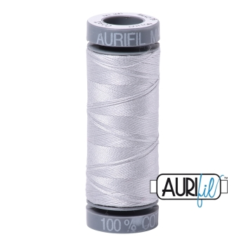 Aurifil Thread 2600 28 WT - Dove (Small Grey Spool 100 metres)