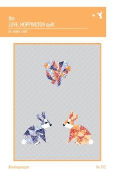 Violet Craft - The Love Hoppington Quilt