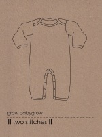 Two-Stitches Grow Baby Grow Pattern