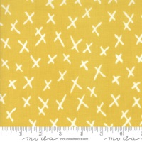 Savannah by Gingiber for Moda - X Marks Citrine 48224 18