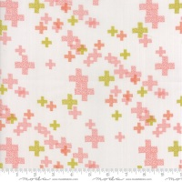 Modern Backgrounds Colorbox - Geometric Pluses (Fog Peach) 1644 16
