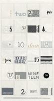 White Christmas by Zen Chic for Moda - Christmas Countdown Calendar