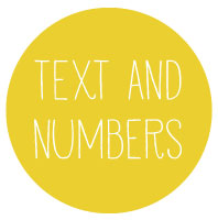 Text & Number