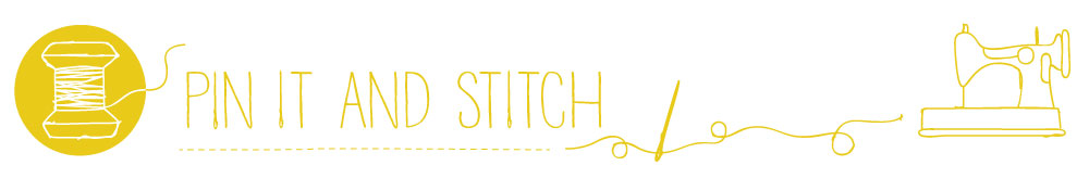 Pin It & Stitch, site logo.