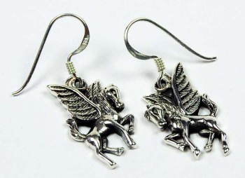 Pegasus sterling silver Earrings
