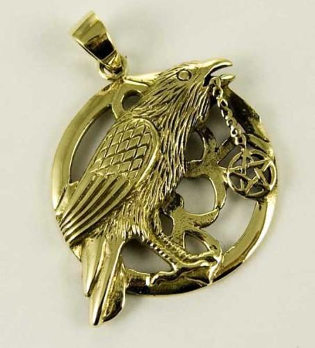 Bronze Talisman pendant by Lisa Parker